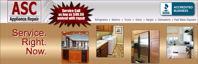 Charlotte Appliance Repair | Dryers: Kenmore, GE, Whirlpool